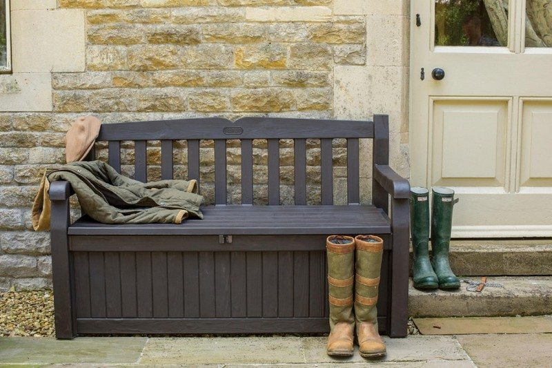 Outdoor Bench with Storage - The Owner-Builder Network