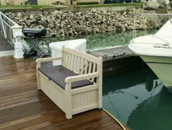 Outdoor Bench Storage