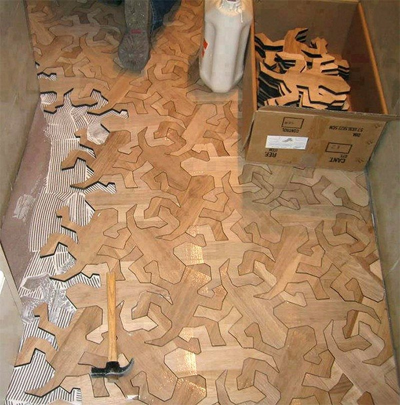 Puzzle Floor Ideas The Owner Builder Network