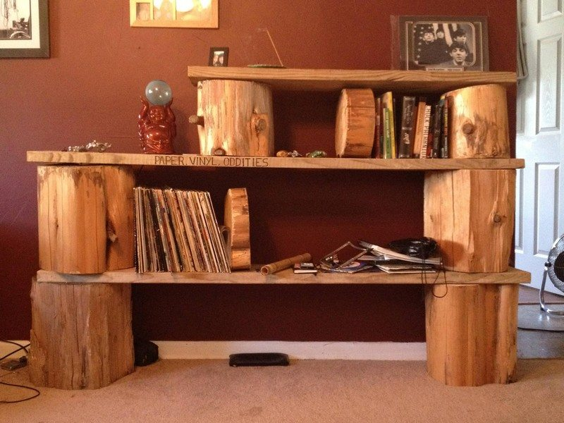 Add warmth to your home with these rustic log decor ideas ...