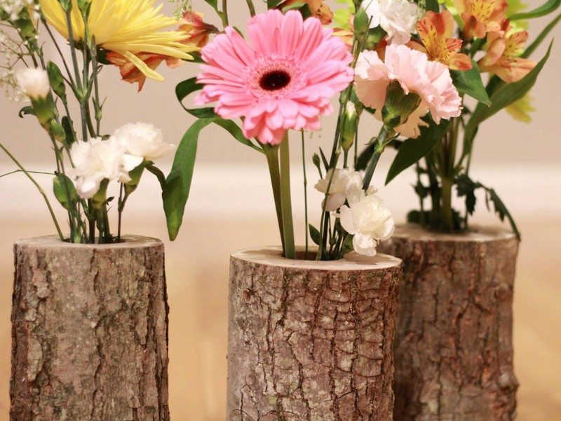 Rustic Log Decor Ideas