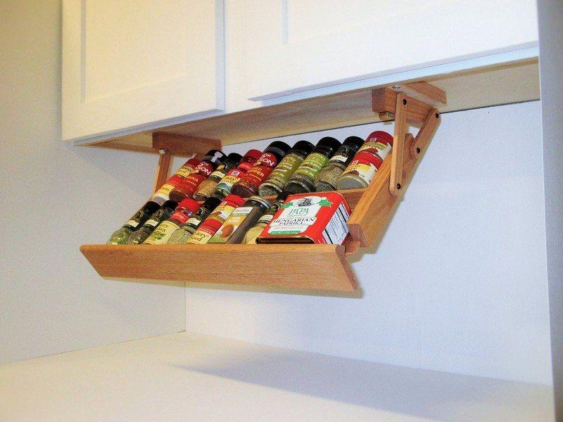 Under Cabinet Spice Rack