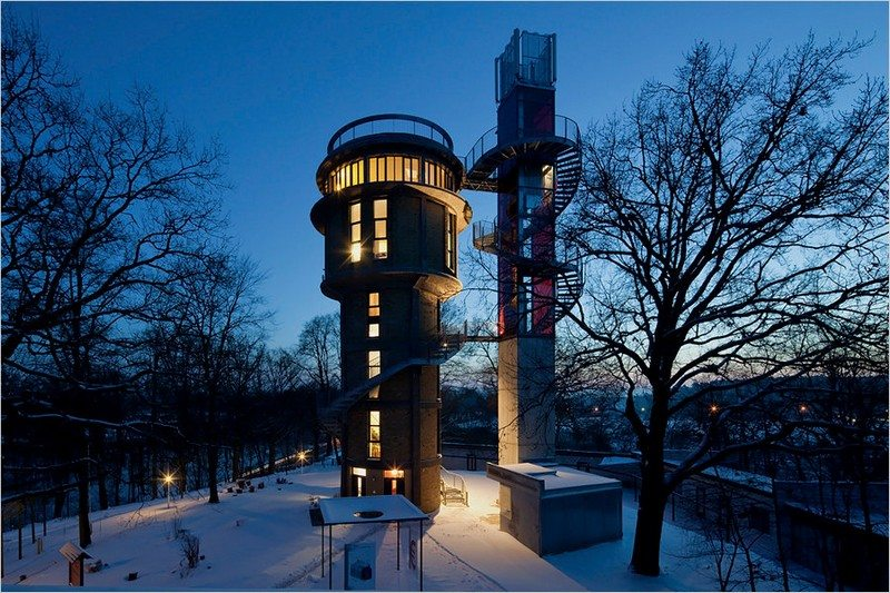 10 Old Water Towers Converted Into Stunning Homes The