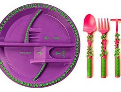 Constructive Eating Gardening Plate