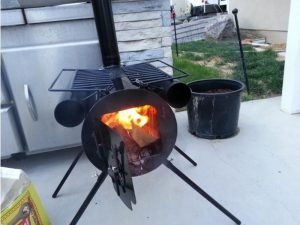 Portable Wood Stove