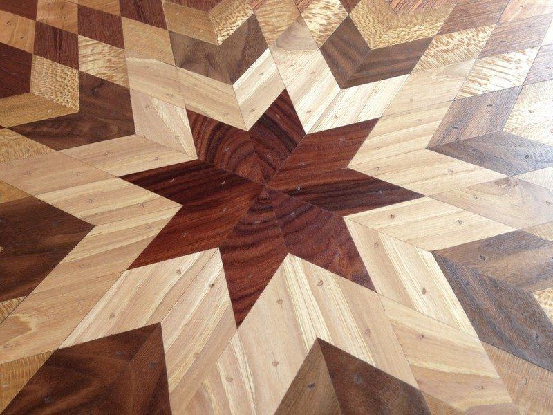 Quilt Tables from Salvaged Wood