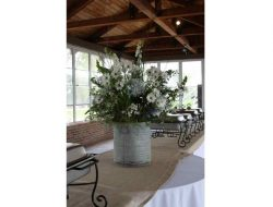 Repurposed Galvanized Buckets and Tubs