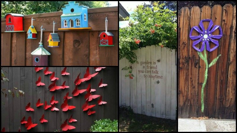 Fence Decor Ideas