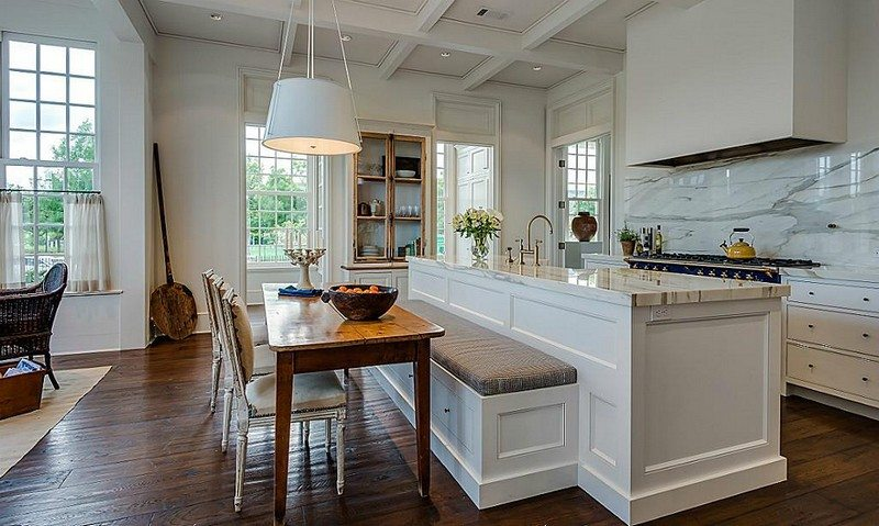 Kitchen Island With Built In Seating Inspiration The