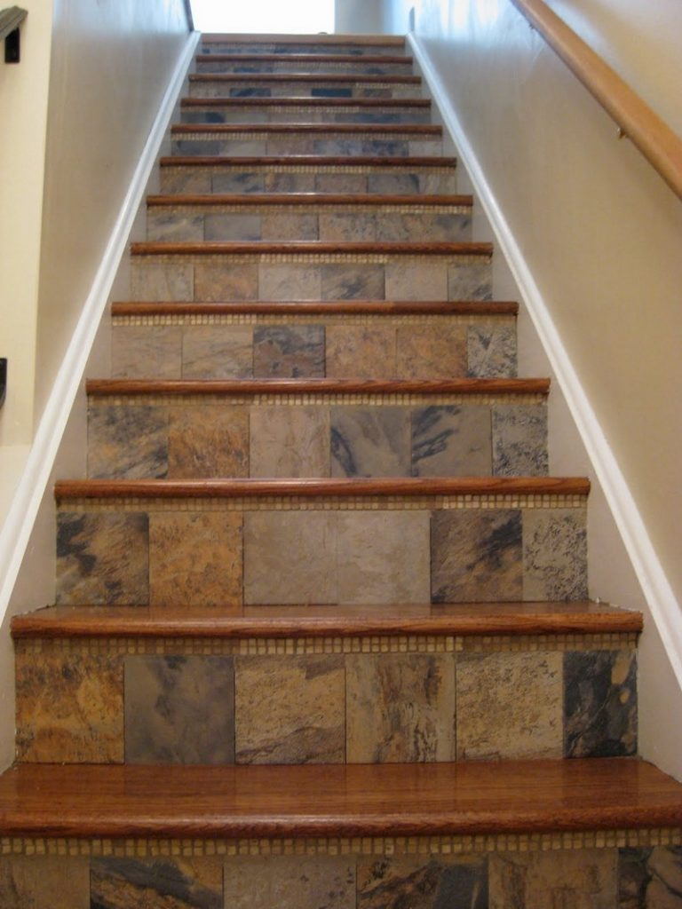 Amazing tiled staircases the owner builder network for Interior staircase designs india
