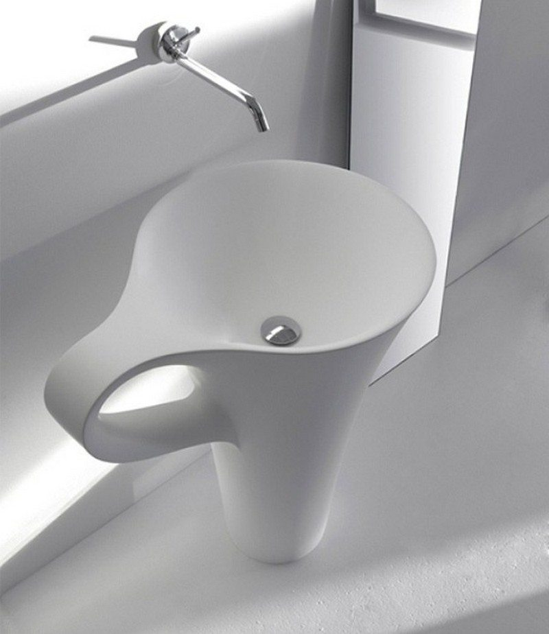 10 unique sinks you won 39 t find in an average home - Cool designer bathroom sink faucets designs ...