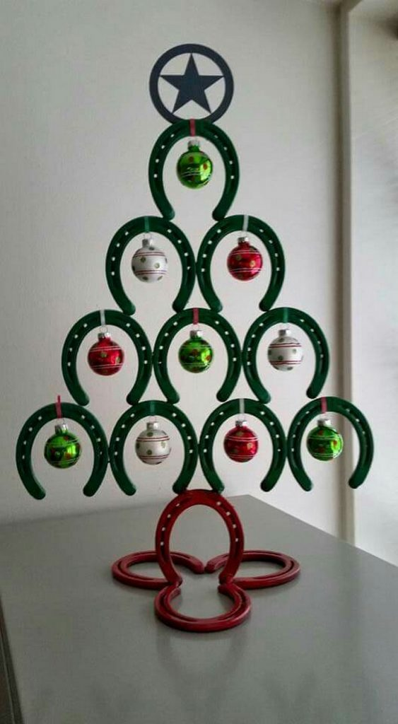 Horseshoe Christmas Tree The Owner Builder Network
