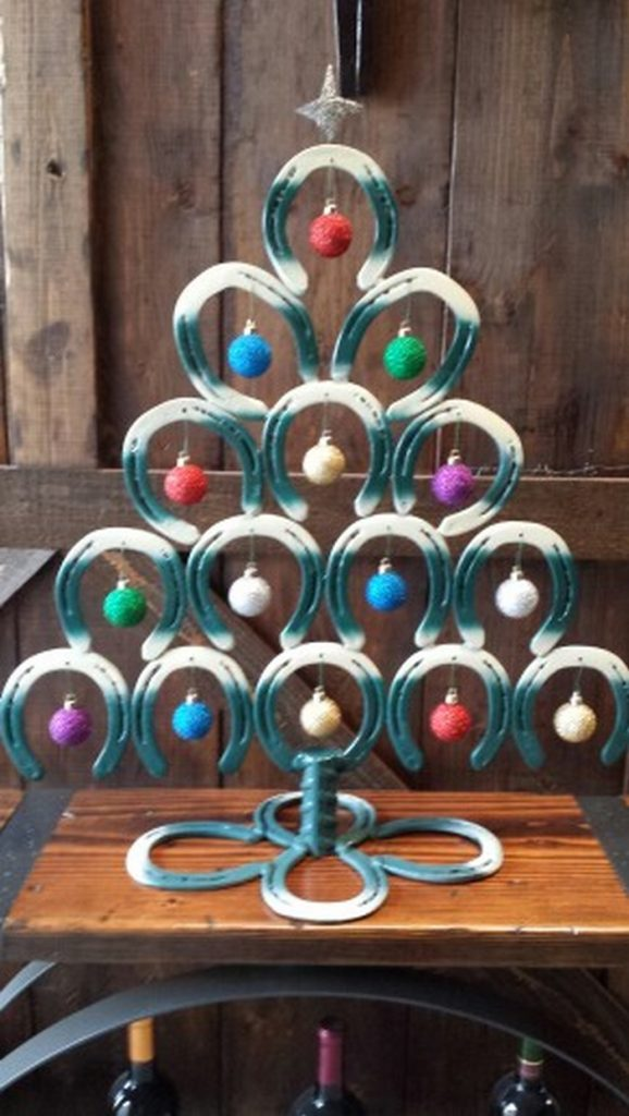 Horseshoe Christmas Tree.Horseshoe Christmas Tree The Owner Builder Network