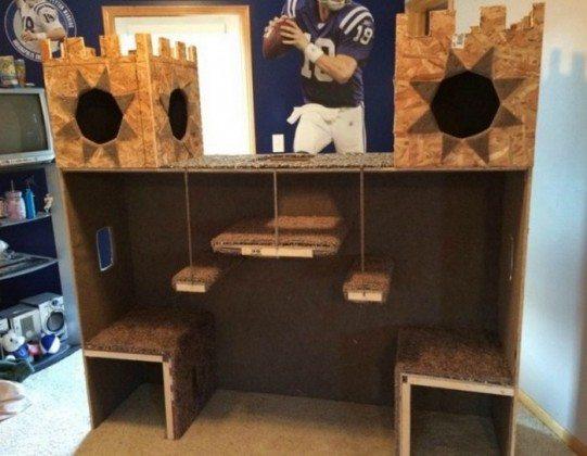 DIY Cat Castle