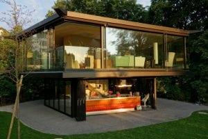 A Garden Pavilion in Zurich