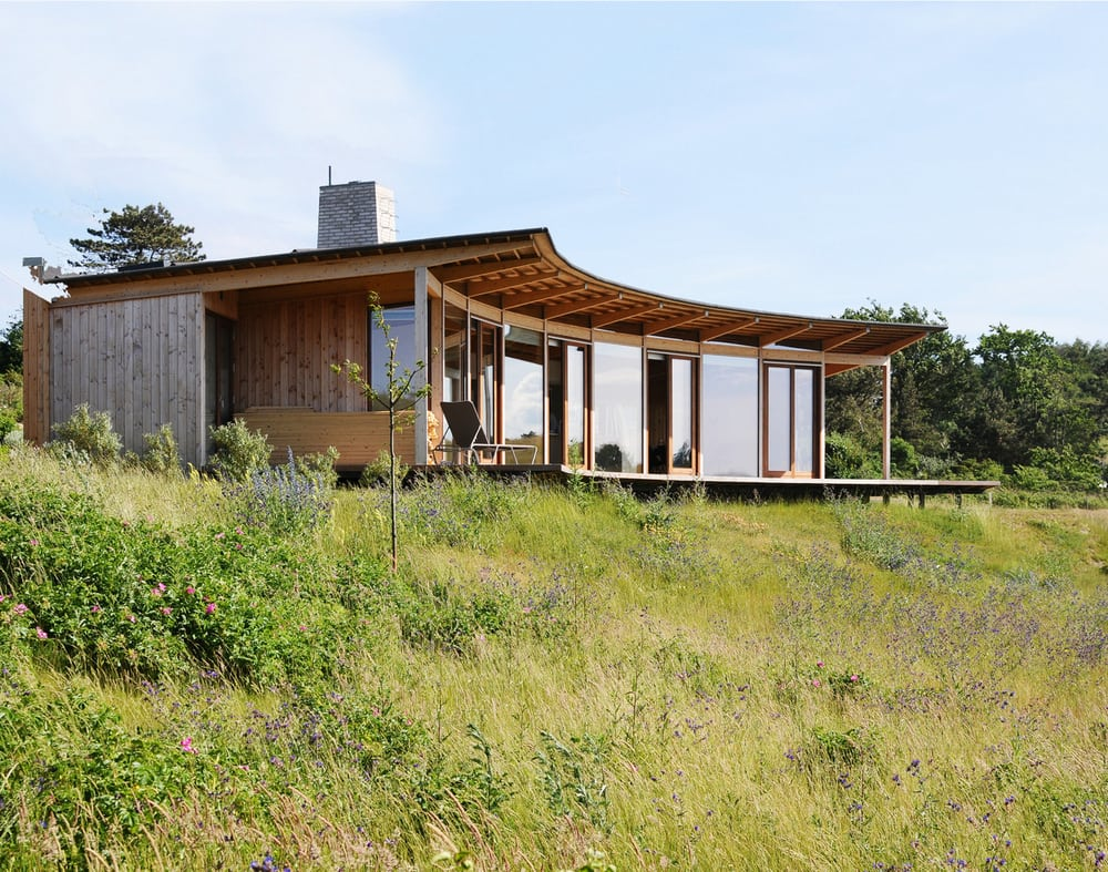 Vacation House Havblik was designed with thoughtful consideration of its surroundings.