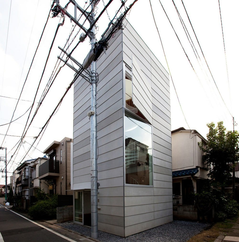 Small House offers a different kind of visual interest - simple but clever design.