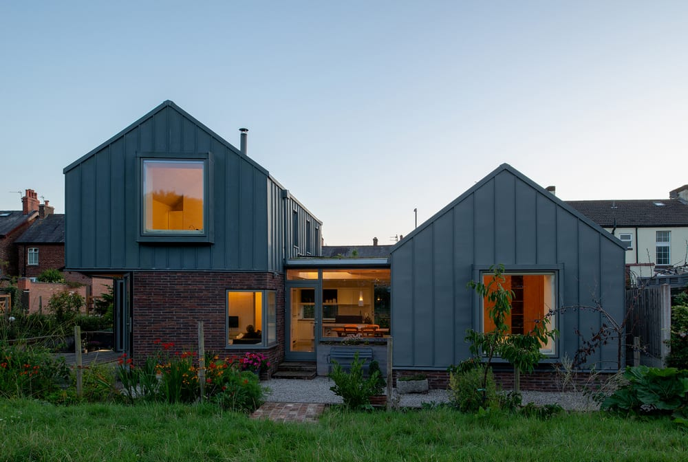 Zinc House: a prefabricated energy-efficient home.