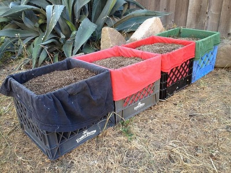 Your compost heap can be a simple pile; or, if you prefer, you can also use a custom pen or bin.
