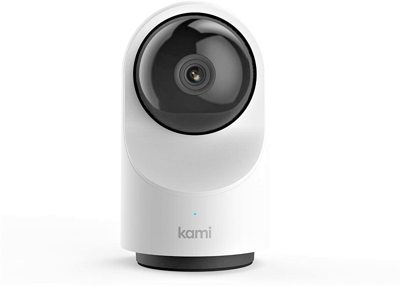The Kami Indoor Camera is operated with the Kami Home app, which supports all Kami-brand cameras, sensors, and base stations.