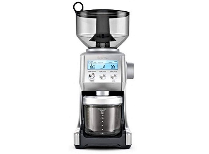 Breville took a page out of the Apple playbook when they made the Smart Grinder Pro.
