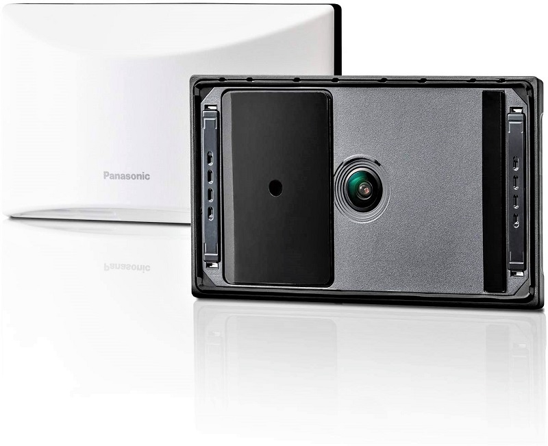 You'll find the image quality of the Panasonic Homehawk Window cam clear despite the glass or screen of windows.