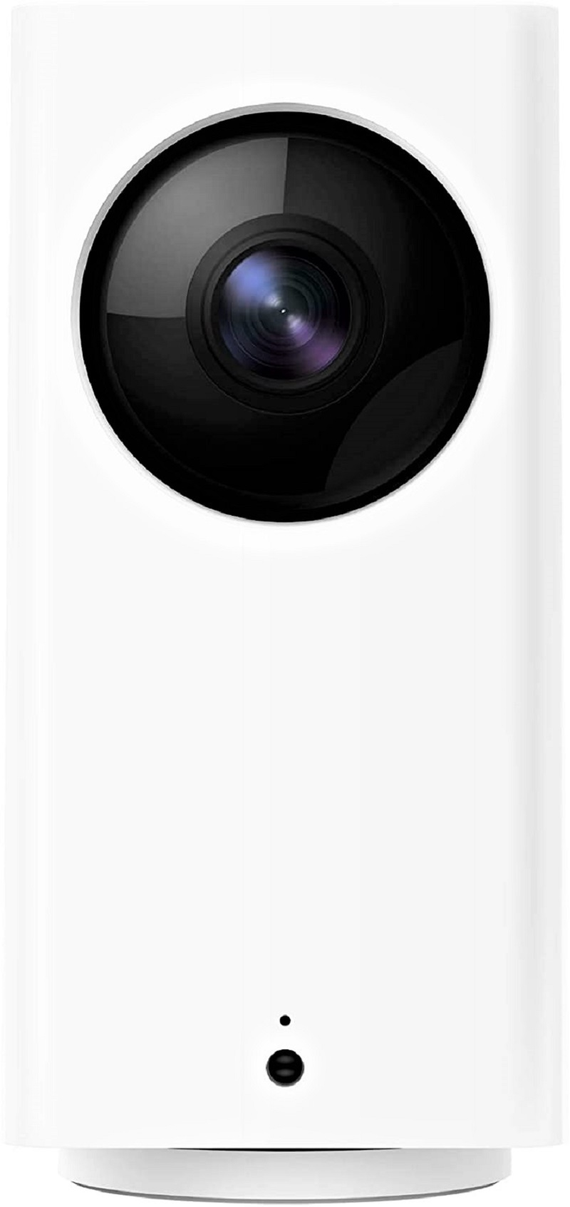 When correctly situated, the 1080p Wyze Cam Pan offers a 360-degree view at 15 fps for a surprisingly affordable price.