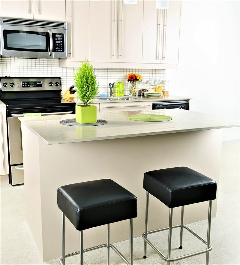 The kitchen is one of the main areas any potential renter looks at when deciding.