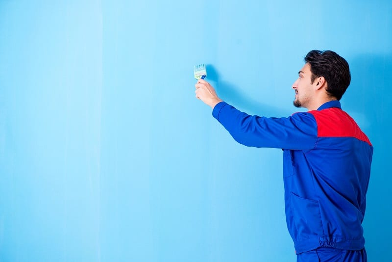 You can make a room feel bigger simply by choosing a lighter shade of paint.
