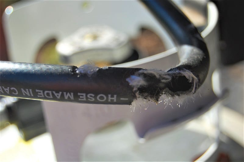 If you suspect a leak somewhere in your propane firepit, stop using it. Do not use it again until you fix the problem.