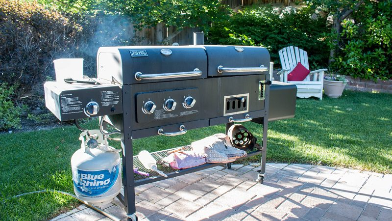 The Safe Way to Barbecue on a Timber Patio
